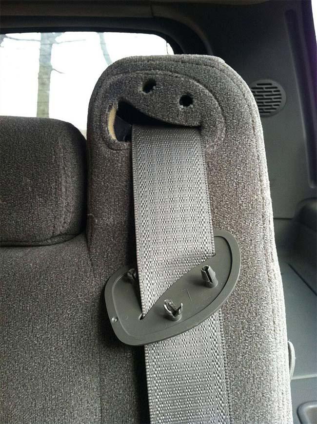 Crying Seat Belt