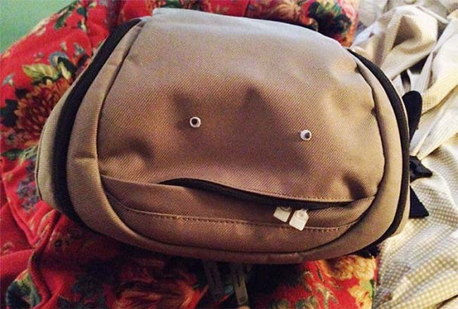 The Stupidest Backpack You'll See Today