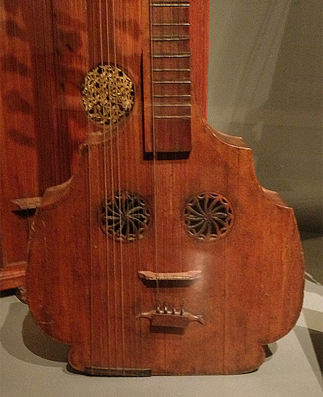 Pouting Lute In The Grassi Museum, Leipzig, Germany