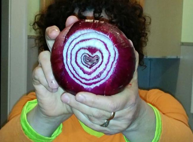 Onion with Love!