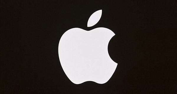 Apple Logo with bite.