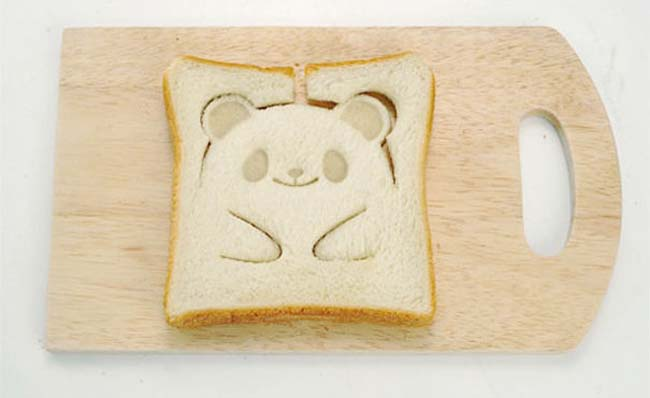 Cool kitchen gadgets - Panda Toast Stamp