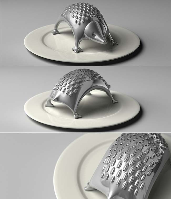 Cool kitchen gadgets - Hedgehog Cheese Grater