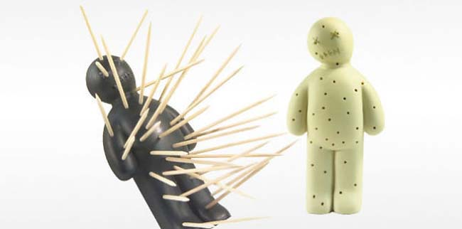 Voodoo Toothpick Holder