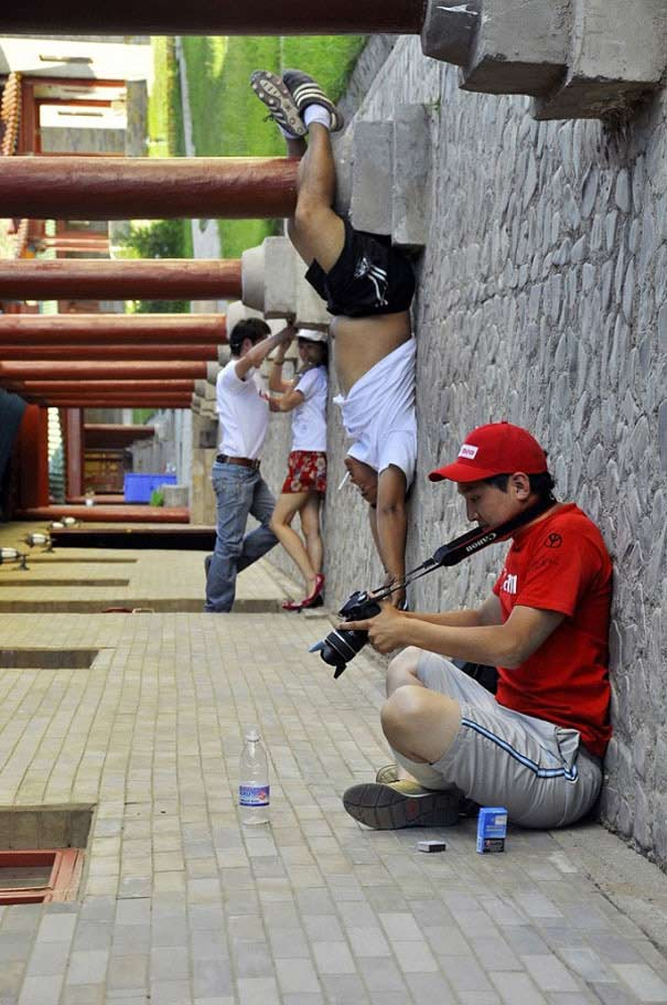 Forced Perspective Creative Angle Photos