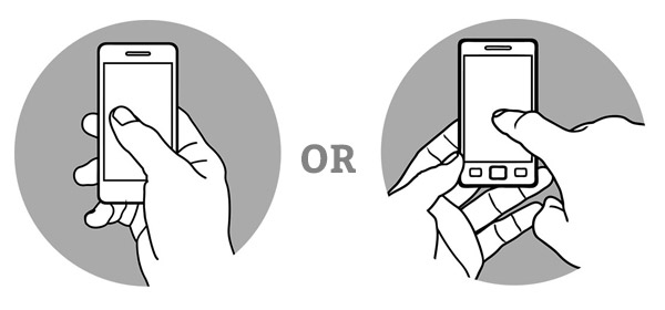 Eliminate the Need For Pinching And Two-Handed Navigation