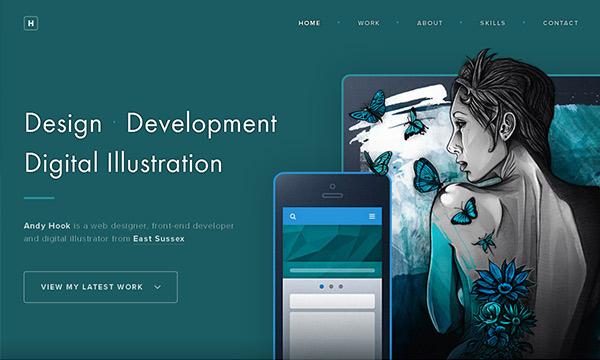 Latest Innovative Single Page Website Design