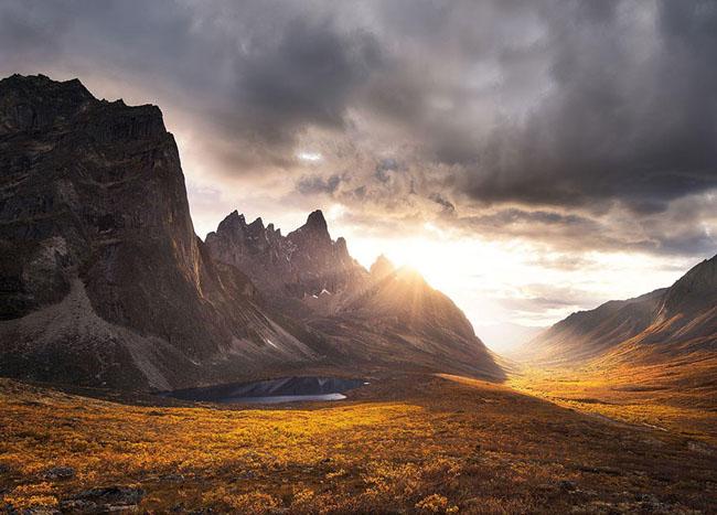 Tombstone Impression, Yukon, Canada