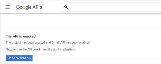 How to create an App and Setup API Keys for Gmail