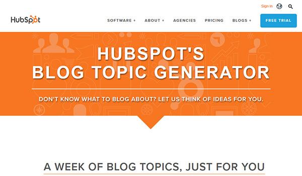 Hubspot Content Generator