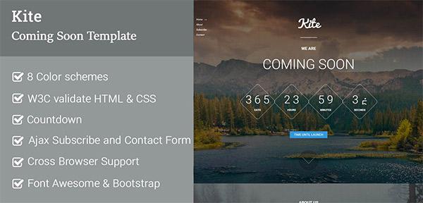 Kite Coming-soon WordPress Plugin