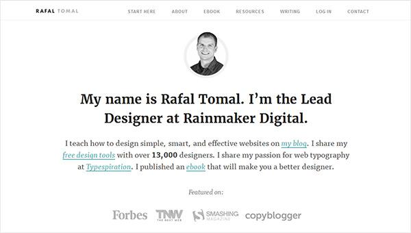 Rafal Tomal Design Blog