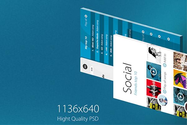 3D App Mockup