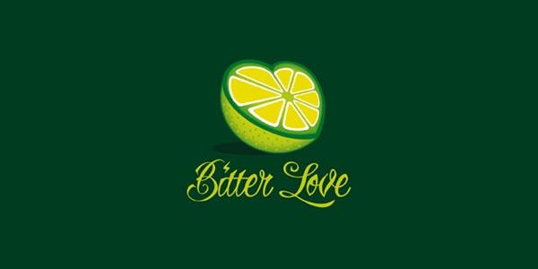 Half Cut Lemon in Heart Shape
