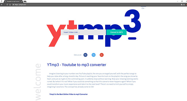 Converting YouTube videos to MP3