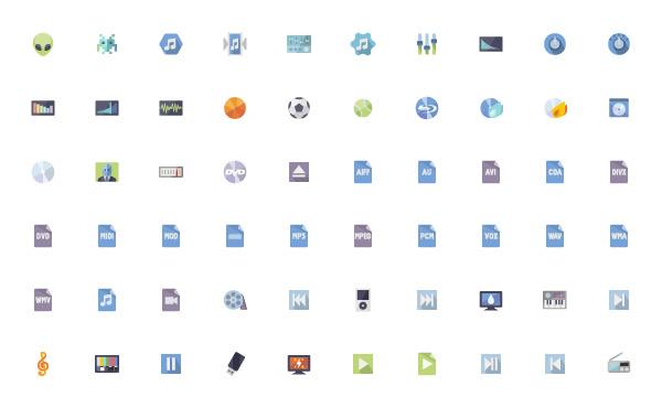 Full Flat Icons