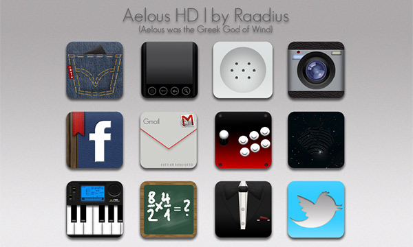 Aelous - Icon Sets for Android