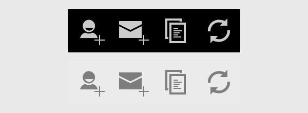 Action Bar Icon Pack from Google