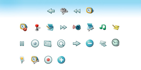 Android Developer Common Icon Set