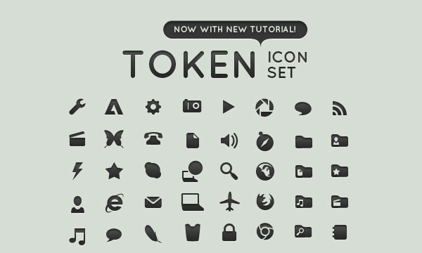 TOKEN Icon Set