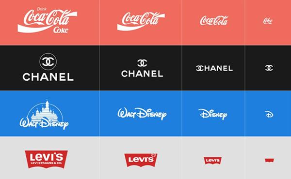 Receptive logos