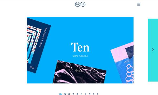 New Ingenious Single Page Website Design