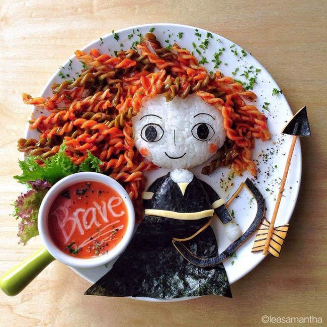 Food Art by Lee Samantha