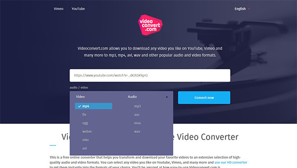 Steps to convert a video