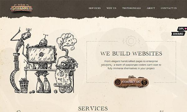 Fresh Ingenious Single Page Website Design