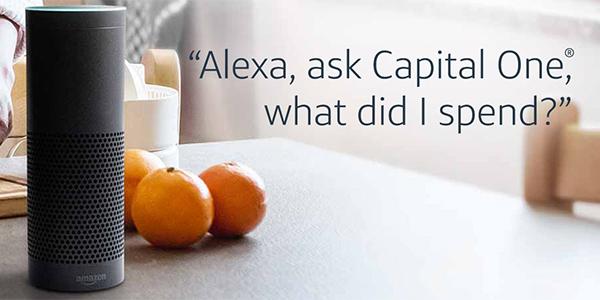 Capital One on Amazon Echo (Alexa)