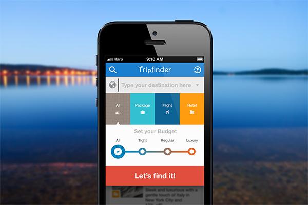 Trip finder app