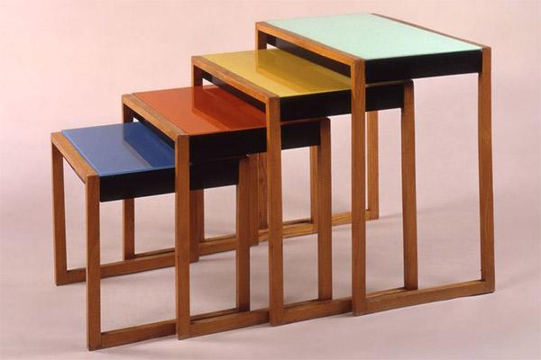 Josef Albert's famous nesting tables