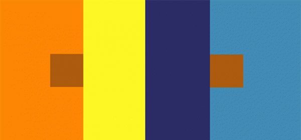 Josef Albers on relativity of color.