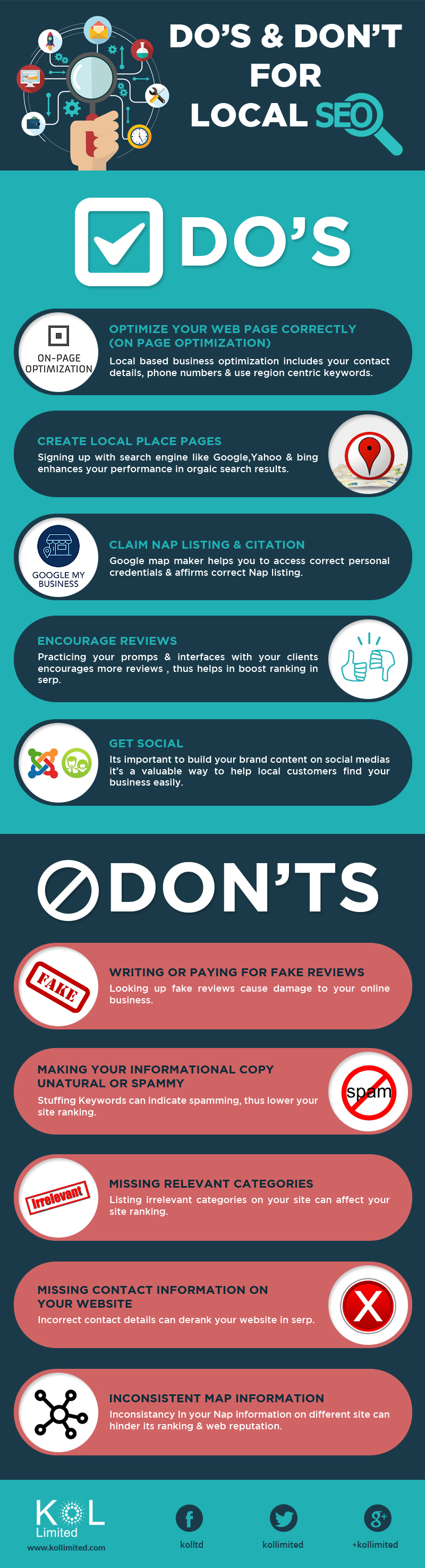 Do's & Don'ts for Local SEO