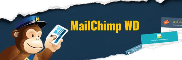 Mailchimp WD plugin