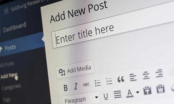 Display recent posts on homepage