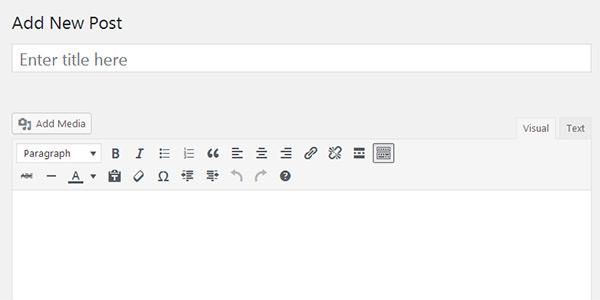 Set default HTML editor