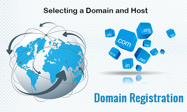 Selecting a Domain and Host