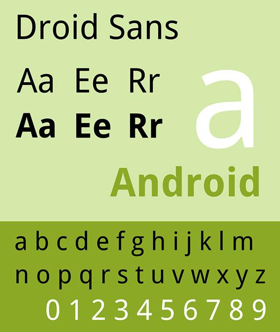 Droid Sans