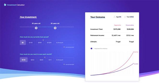 Fresh Single Page Website Design