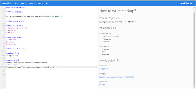 How to write in Markdown?