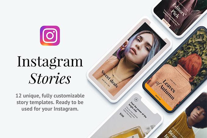 Instagram story template Napali