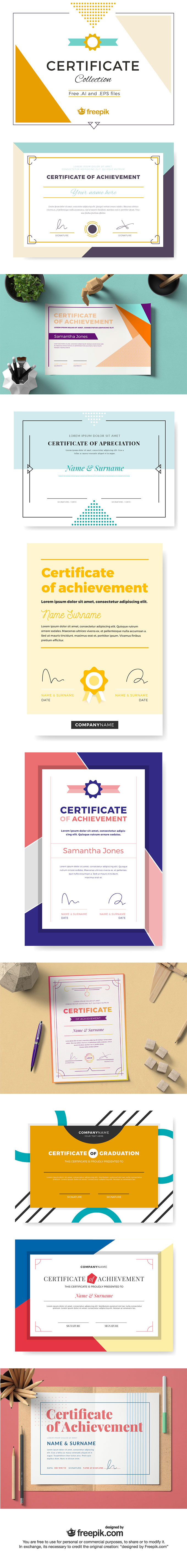 Certificate Collection Set