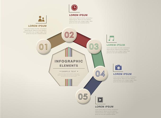 Flow Chart Infographics