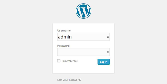 Not Changing the Default Admin Username