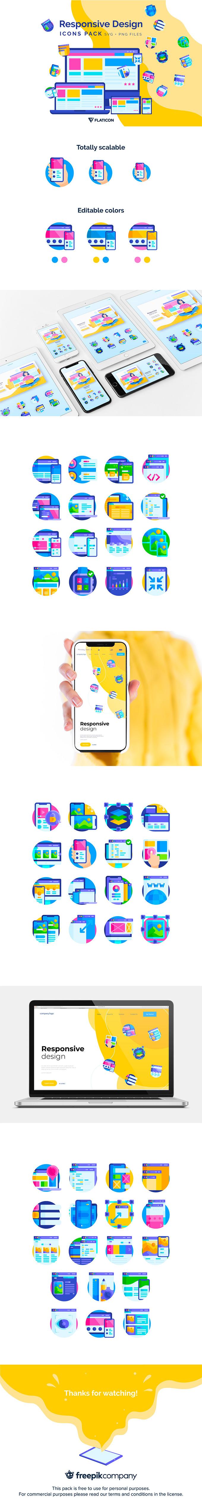 Responsive Design Icon Pack