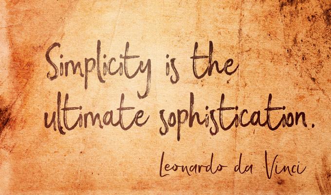 Go For Simplicity