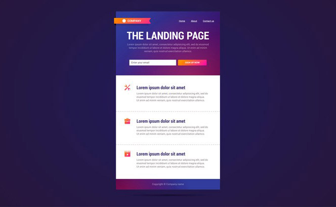 Benefit of Having a Landing Page