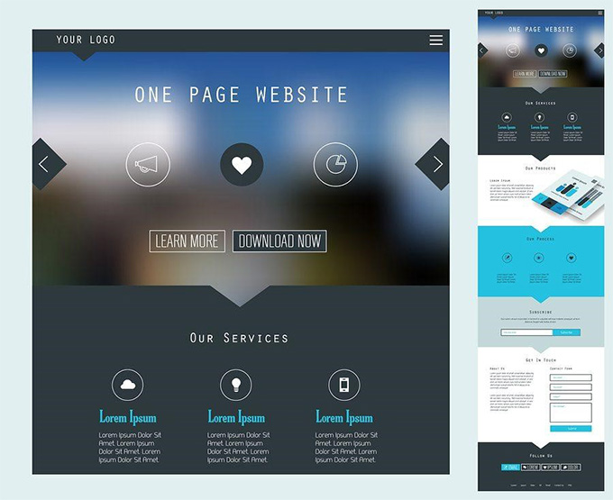 Single Pages, Easier Navigation