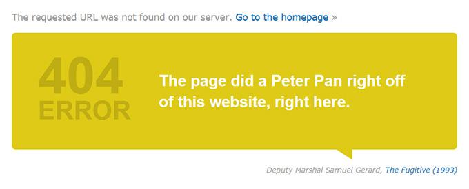 imdb.com 404 Page